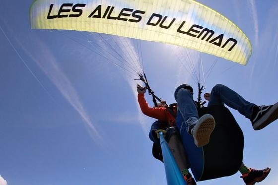 Vol en parapente  - Biplace dans la région du Léman pour 2 personnes 2 [article_picture_small]