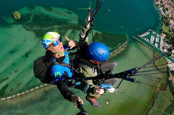 Vol en parapente  - Biplace dans la région du Léman pour 2 personnes 4 [article_picture_small]