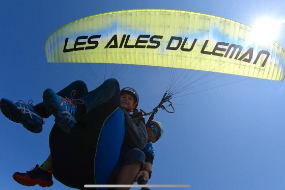 Vol en parapente  - Biplace dans la région du Léman pour 2 personnes 8 [article_picture_small]