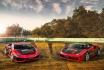 Ferrari & Lamborghini-6 Runden auf der Rennstrecke 1