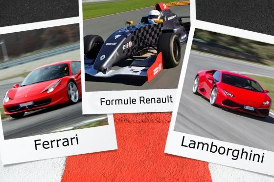 Ferrari, Lamborghini & Rennauto - 8 Runden auf der Rennstrecke fahren  [article_picture_small]