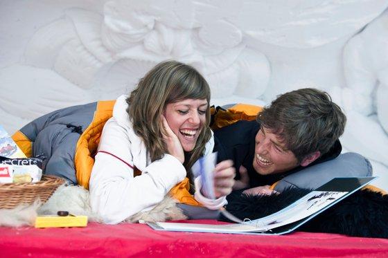 Iglu Übernachtung für 2 - Romantik in Zermatt 1 [article_picture_small]