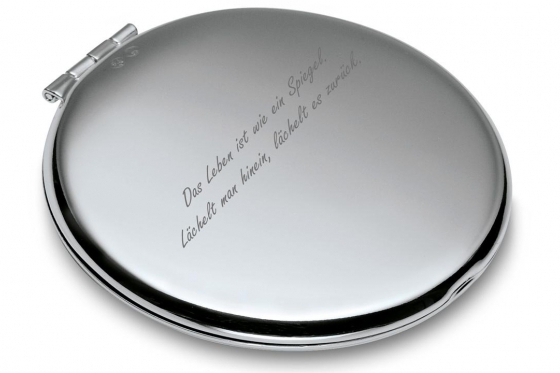 Miroir de poche - personnalisé