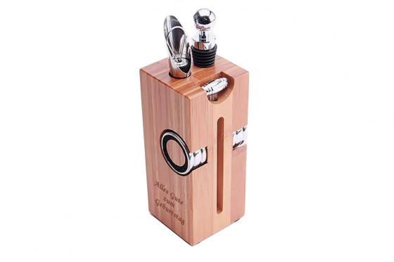 Set accessoires à vin - personnalisable