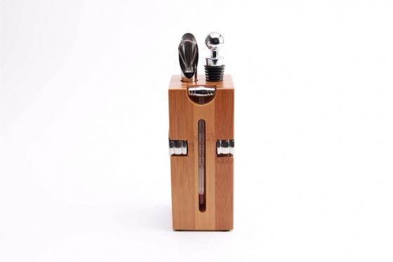 Set accessoires à vin - personnalisable 1