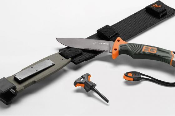 Survival Messer - mit Gravur auf Klinge 1