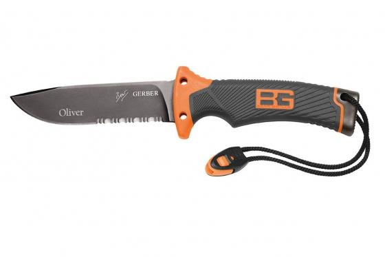 Survival Messer - mit Gravur auf Klinge 3