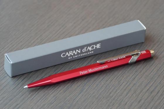Kugelschreiber - Caran d'Ache mit Gravur