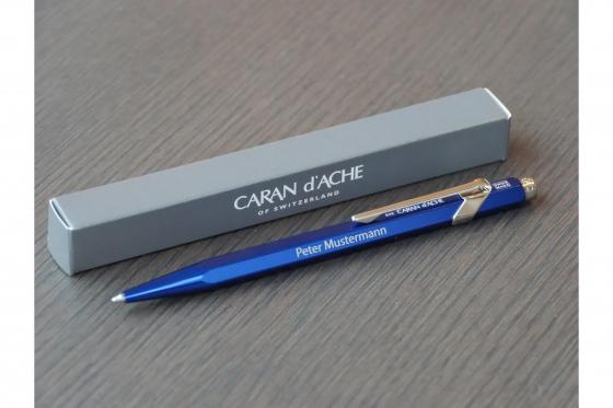 Kugelschreiber - Caran d'Ache mit Gravur 1