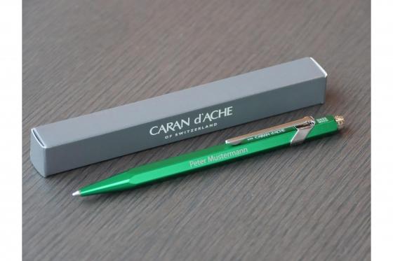 Kugelschreiber - Caran d'Ache mit Gravur 2