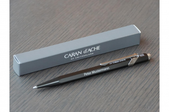 Kugelschreiber - Caran d'Ache mit Gravur 3