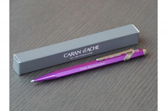 Kugelschreiber - Caran d'Ache mit Gravur 4
