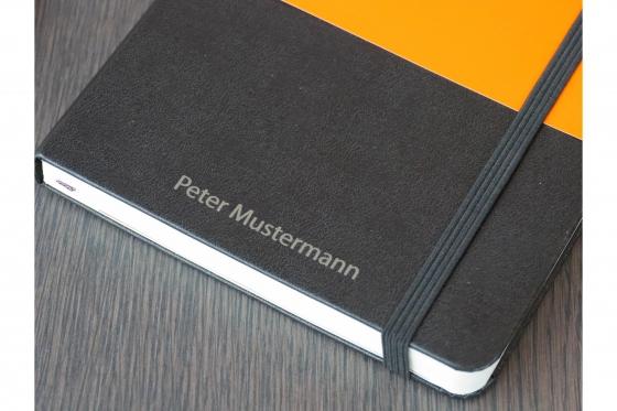 Moleskine Notizbuch - Mit Namensgravur 2
