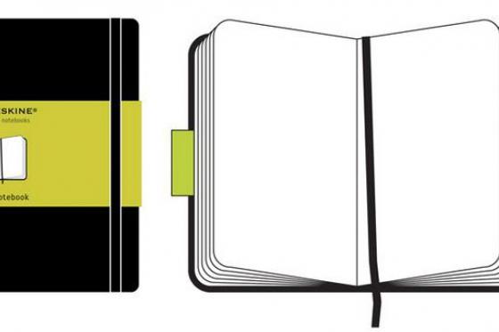 Moleskine Notizbuch - Mit Namensgravur 3