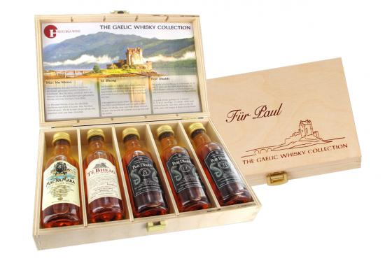 Collection de Whisky - Coffret personnalisable 1