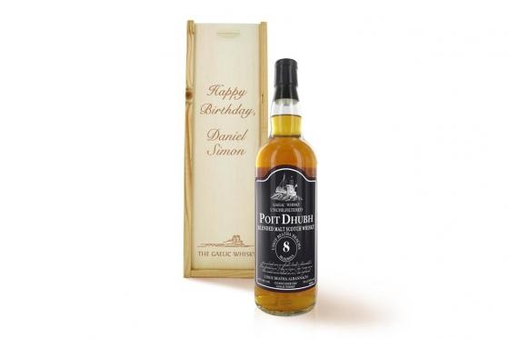 Whisky Poit Dhubh - Coffret personnalisable