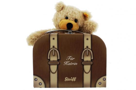 Steiff Teddy  - im Reisekoffer - personalisierbar 1