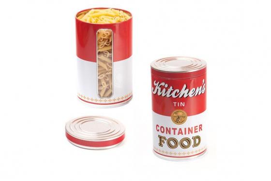 Boite en métal  - Kitchen's Container Food