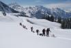 Schneeschuhtour für 4-mit Huskybegleitung 1