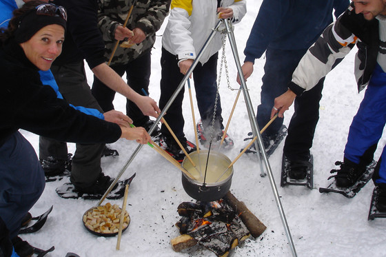 Schneeschuhtour für 4 - mit Huskybegleitung 1 [article_picture_small]