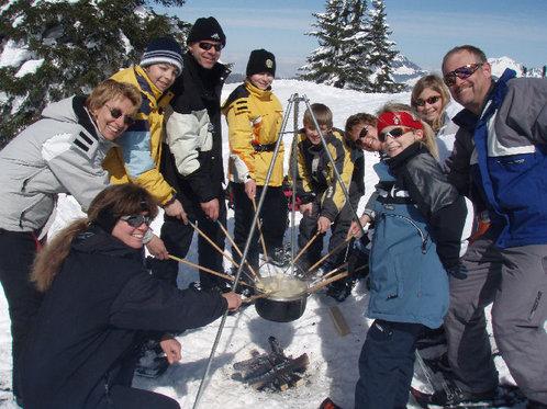 Schneeschuhtour für 4 - mit Huskybegleitung 9 [article_picture_small]