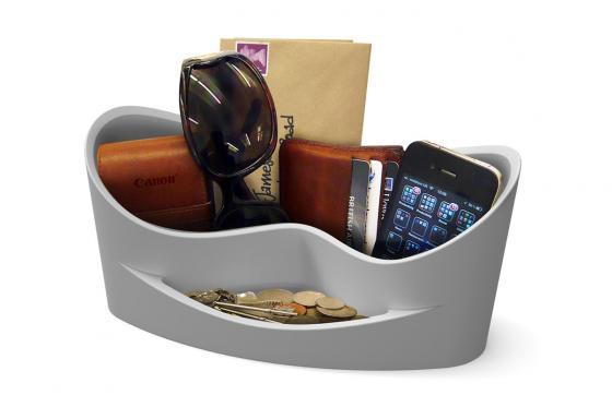 Casa Organiser grau - praktischer Behälter in top Design