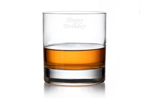 Whiskyglas - mit Gravur