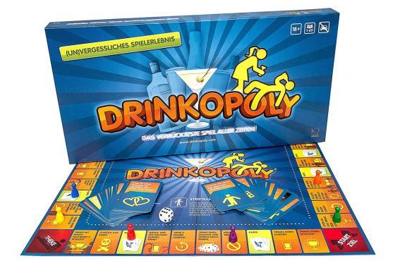 Drinkopoly - Monopoly als Trinkspiel