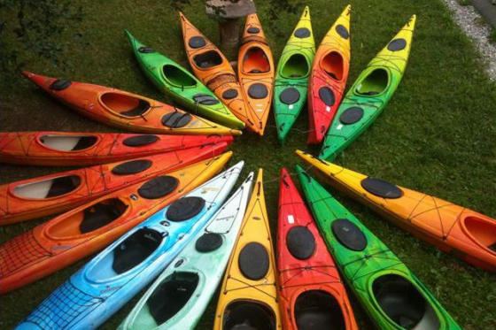 Sortie en famille - Kayak au Lac de la Gruyère  [article_picture_small]