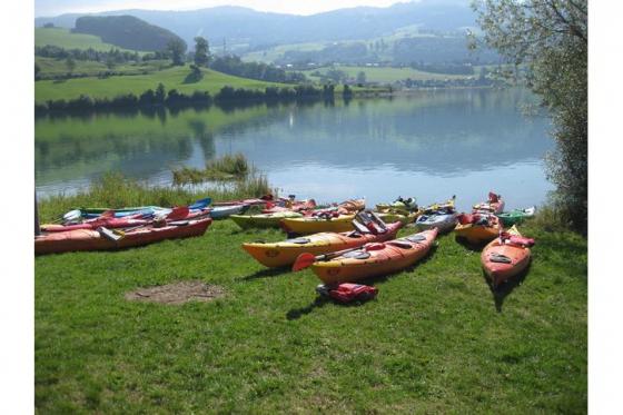 Sortie en famille - Kayak au Lac de la Gruyère 1 [article_picture_small]