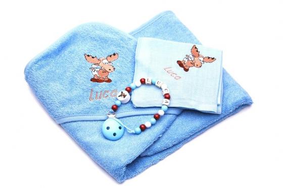 Set cadeau pour bébé - Cadeau de naissance - bleu