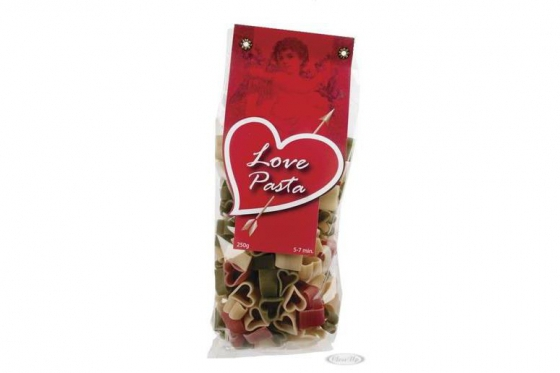 Nudeln in Herzform - Love Pasta
