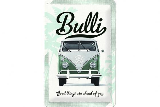 VW Bulli - Plaque métallique