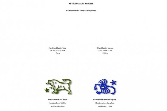 Horoskop Partnerschaft - Personalisiertes Horoskop 2