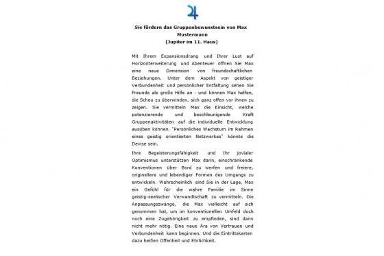Horoskop Partnerschaft - Personalisiertes Horoskop 5
