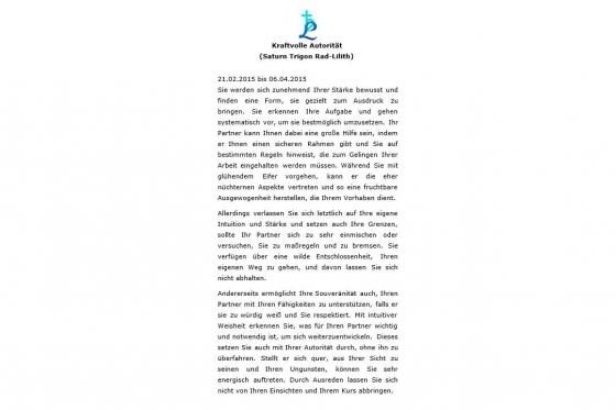 Liebe und Partnerschaft  - Personalisiertes Jahreshoroskop 5