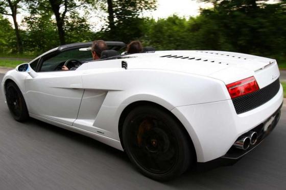 1h Lamborghini Gallardo Miete  - Sportwagen selber fahren in Luzern 1 [article_picture_small]