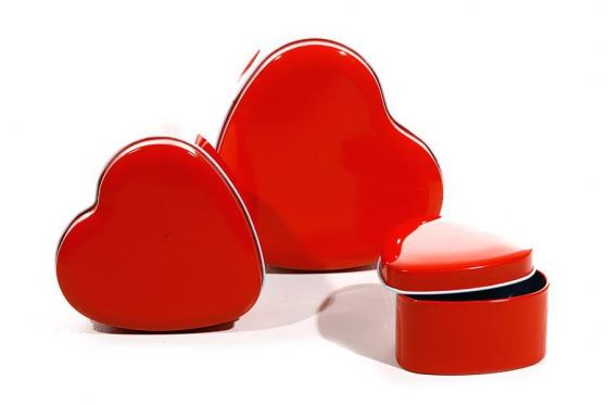 Herzdosen - 3-er Set