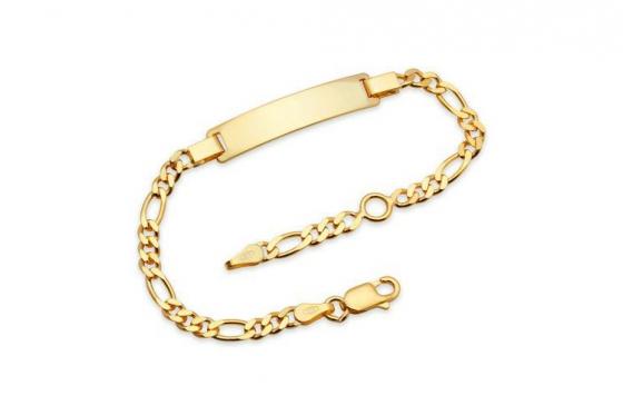 Vergoldetes 925er Silberarmband - Personalisierbar