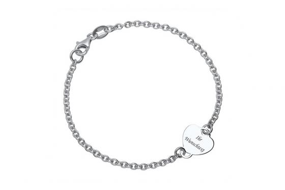 925er Silberarmband Ella - Personalisierbar