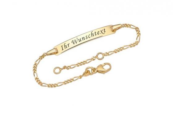 375er Gold Armband - mit Gravur