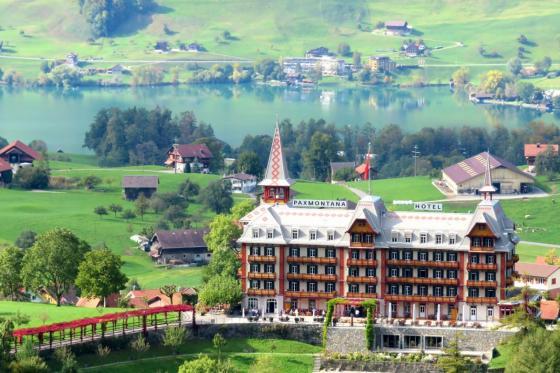 Nostalgisches Schweizer Hotel - Übernachtung inkl. 4-Gang-Dinner  [article_picture_small]