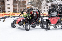 Circuit en buggy - Conduite d'un buggy e-cross