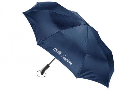 Taschenschirm Blau - Personalisierbar
