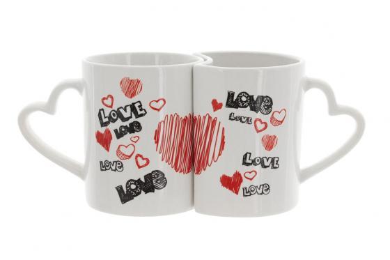 Love Graffiti - Tasses de couple par 2