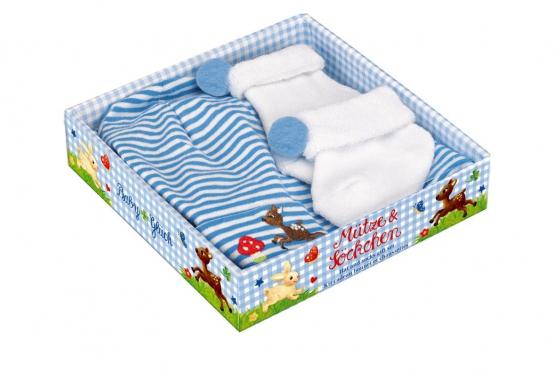 Bonnet & Chaussettes - Cadeau pour bébé 1