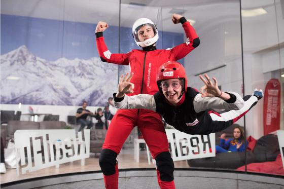 Indoor Bodyflying in Sion - 6 Flüge teilbar auf 1 oder 2 Personen  [article_picture_small]