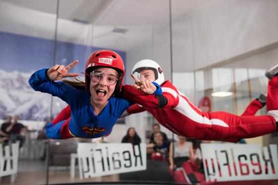 Indoor Bodyflying in Sion - 6 Flüge teilbar auf 1 oder 2 Personen 2 [article_picture_small]