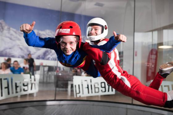 Indoor Bodyflying in Sion - 6 Flüge teilbar auf 1 oder 2 Personen 7 [article_picture_small]