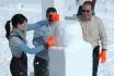 Schneeskulpturen selber machen-Schnupperstunde im Iglu-Dorf 2